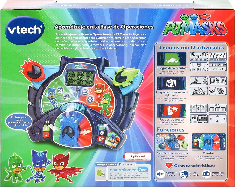 VTech- Estación de Aprendizaje Pj Masks. Aprende el Abecedario, Multicolor (3480-178722) , color/modelo surtido