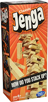 Hasbro Jenga Classic Game