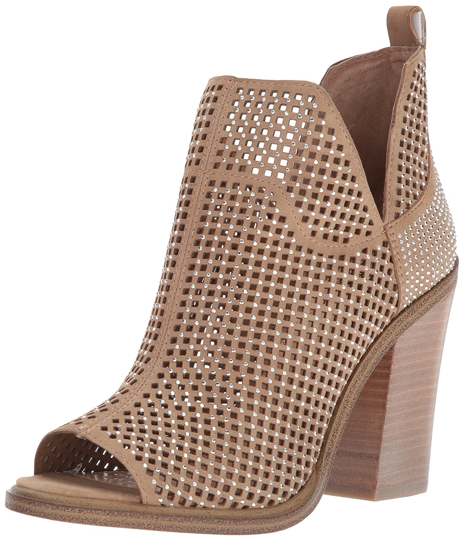 Vince Camuto Women's Kiminni Ankle Boot B07692L9N8 6 B(M) US|Sahara Dune