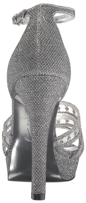 Adrianna Papell Women's B01M0TG1LC Morgan Platform Dress Sandal B01M0TG1LC Women's 9 B(M) US|Gunmetal d00919