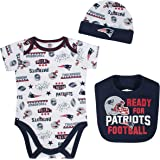 5a84580f6 Amazon.com   NFL New England Patriots Unisex-Baby Footysuit Coverall ...