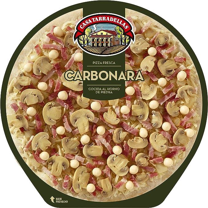 Casa Tarradellas Pizza Fresca Carbonara, 400g