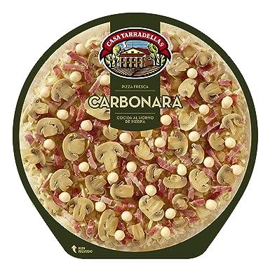 Casa Tarradellas - Pizza Fresca Carbonara, 400 g: Amazon.es ...