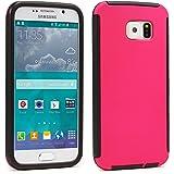 Urcover® Samsung Galaxy S5 Mini Touch Case RUNDUM-SCHUTZ Hülle Pink Full View Cover Full Body Cover Beidseitige Schutz-Hülle Komplettschutz Schale Schutz für Vorder- & Rückseite