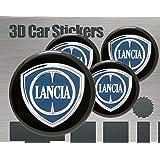 Logo Lancia Delta delantera, trasera + Volante + 2 para ...