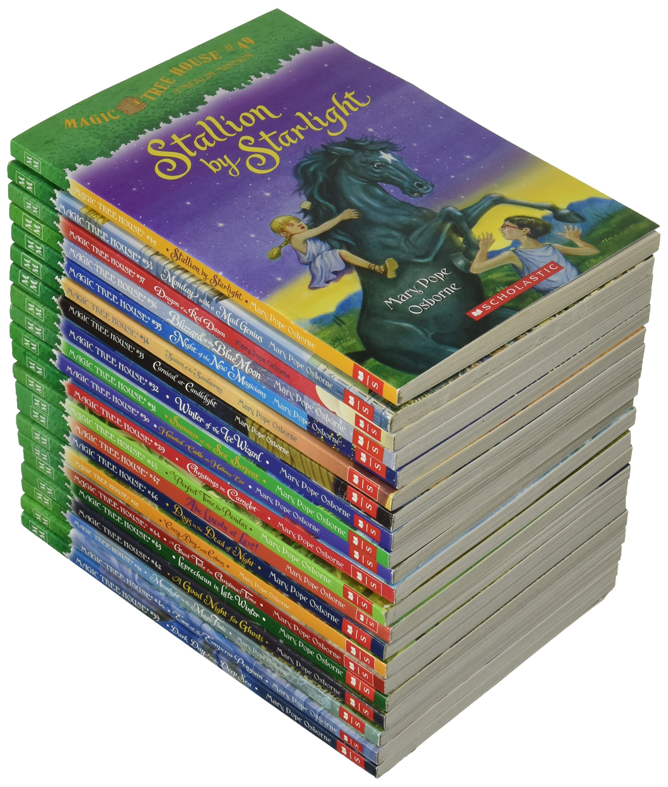 Magic Tree House� Merlin Mission Pack (#29#49): Mary Pope Osborne:  9780545856638: Amazon: Books