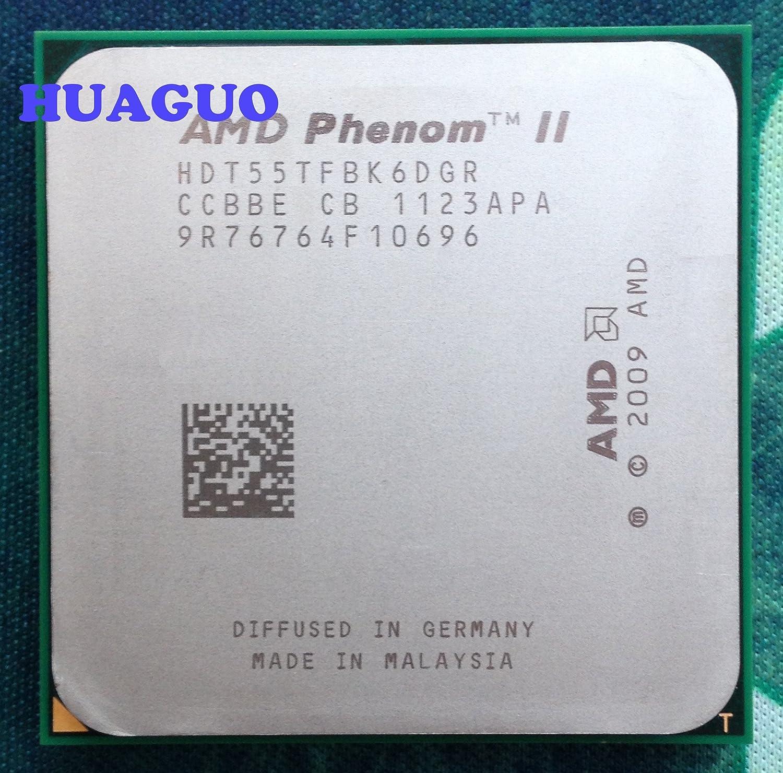 Amazon Com Amd Phenom Ii X6 1055t 2 8ghz Six Core Cpu Processor Hdt55tfbk6dgr Socket Am3 125w Computers Accessories
