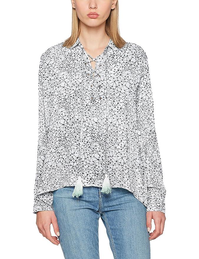 Khujo Mila Rayon Woven Top, Blusa para Mujer: Amazon.es: Ropa y accesorios