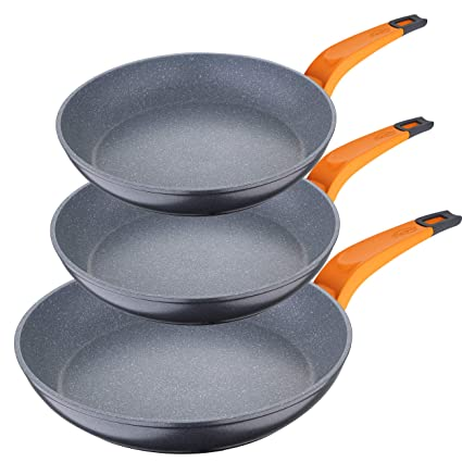 San Ignacio PK1282 Lava Set de sartenes 20/24/28 cms, aluminio ...
