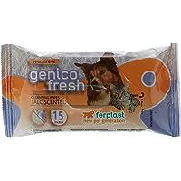 Ferplast - Genico Fresh Wipes -Dog/Cat Talc Scented (15Pc)