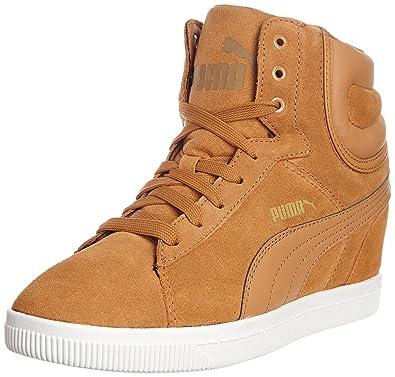 61a4e427ff Puma Damen -, Mehrfarbig - Braun - Größe: 37.5 EU: Amazon.de: Schuhe ...