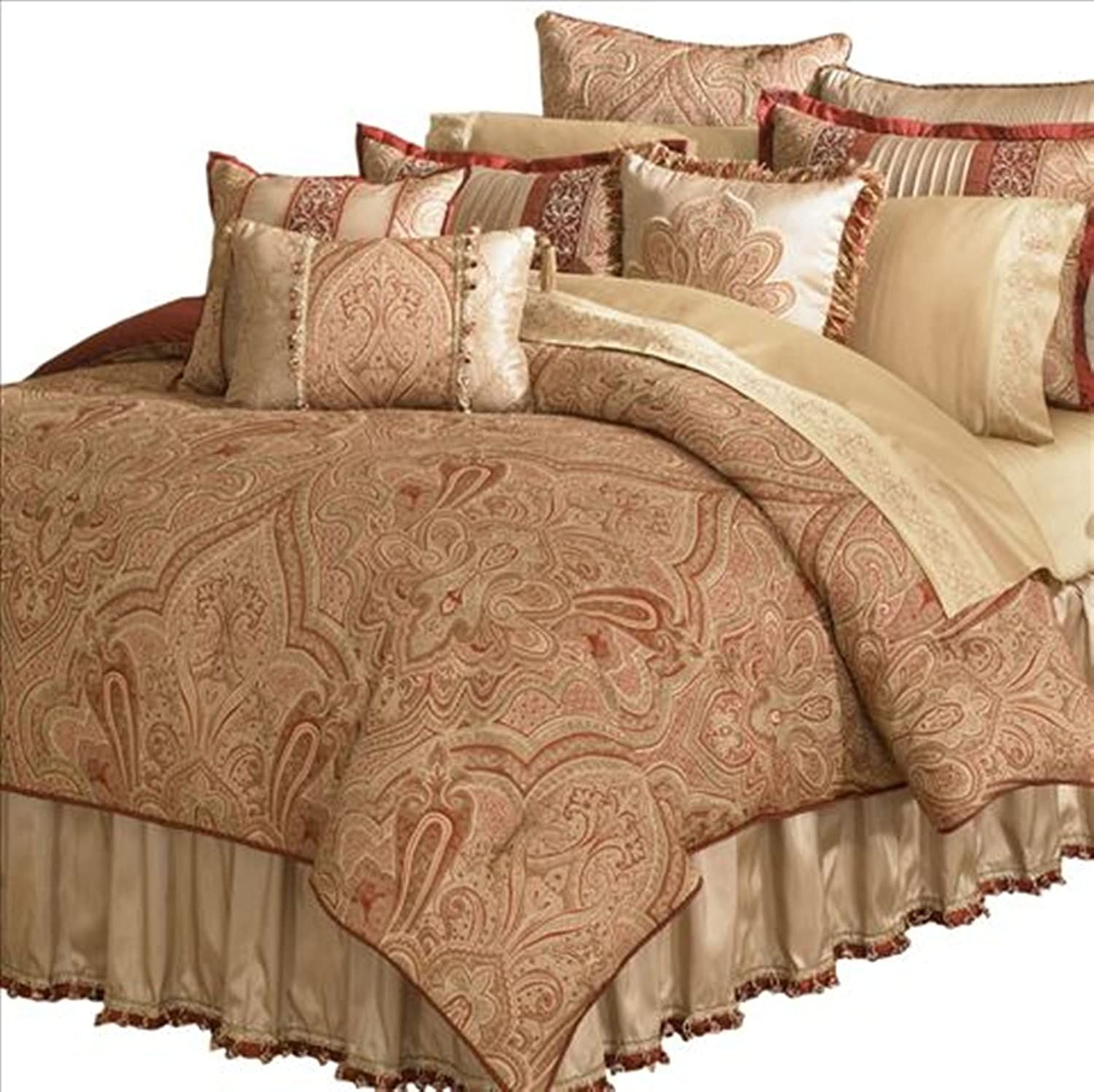 Queen comforter sets amazon amazoncom multiple colors 8pc for Kitchen queen set