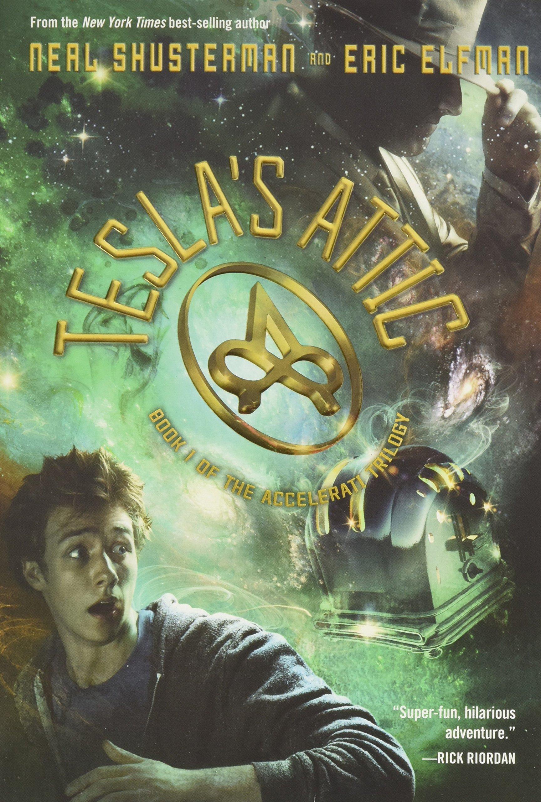 the accelerati trilogy book one tesla u0027s attic the accelerati