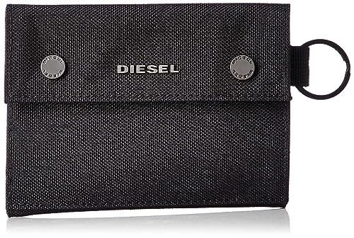 c156fbded903 Amazon   (ディーゼル) DIESEL メンズ 財布 X06190P2292 UNI ブラック ...