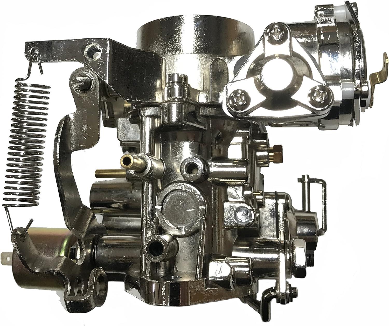 OCPTY Carburetor Fits for VW Beetle Bug Bus 30 PICT-1 Carburetor Kit Electric Choke 113129027F Carb Carburetor