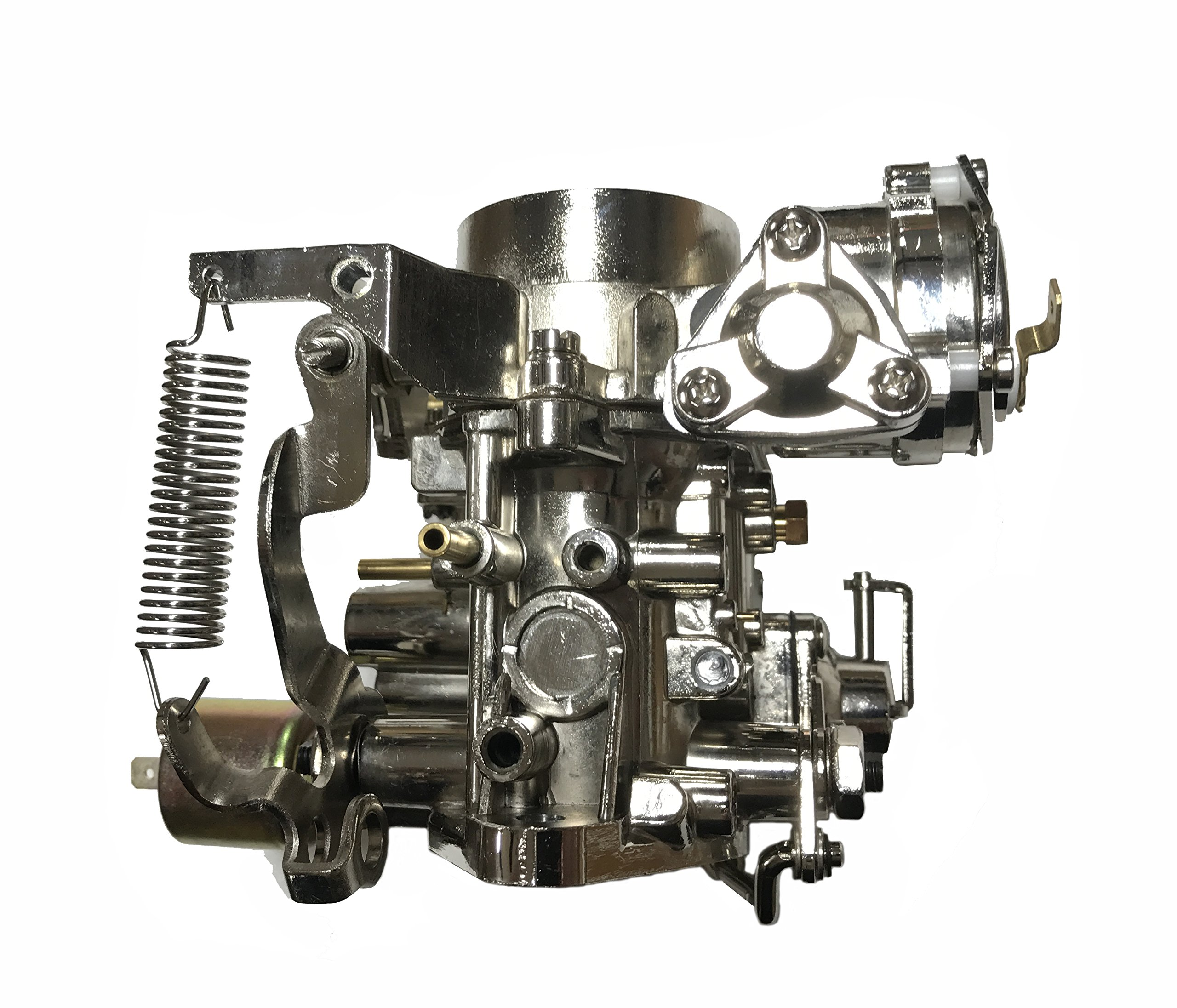 Chrome Volkswagen 34 PICT Carburetor for VW Bug Bus Thing Buggies Ghia 34 PICT-3 CARBURATOR with 12V Choke