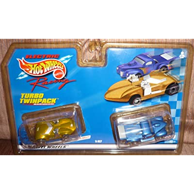 Hot Wheels #96628 Electric Racing Turbo Twinpack,Twin Mill and Custom Pickup 1/87 Scale Slot Cars: Toys & Games [5Bkhe1404115]