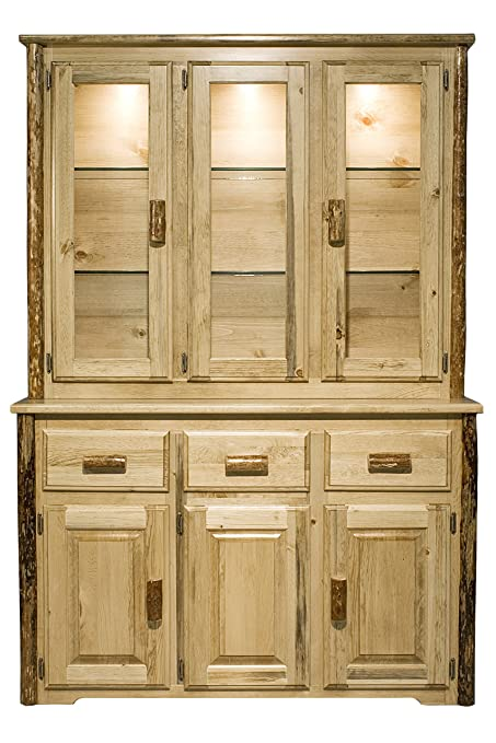 Ordinaire Montana Woodworks MWGCCHLD Glacier Country Collection China Hutch U0026  Sideboard