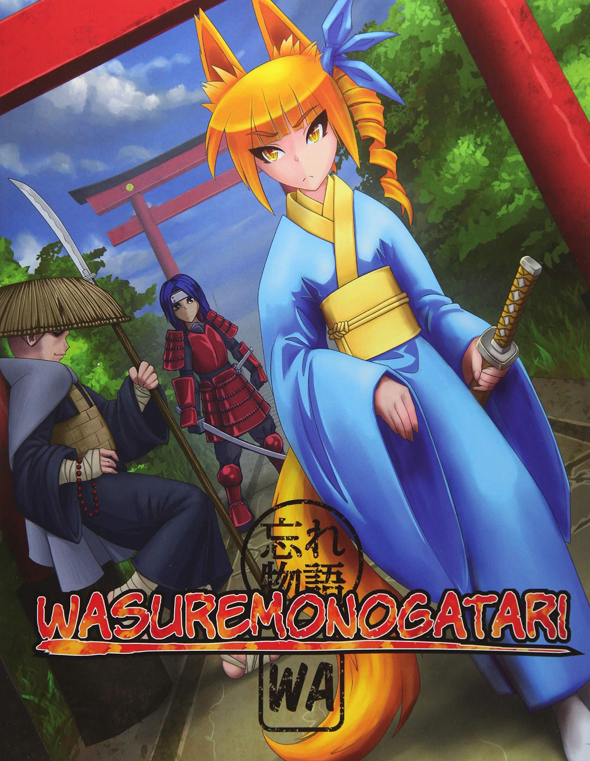 Wasuremonogatari color wa the anime manga rpg paperback august 5 2014