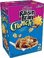 Kellogg's Raisin Bran Crunch, Breakfast Cereal, Original, Good Source of Fiber,