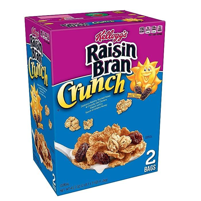 Top 10 Raisin Bran Crunch Apple Strawberry Cereal