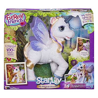 Twisti FurReal Friends Star Lily My Magical Unicorn: Toys & Games