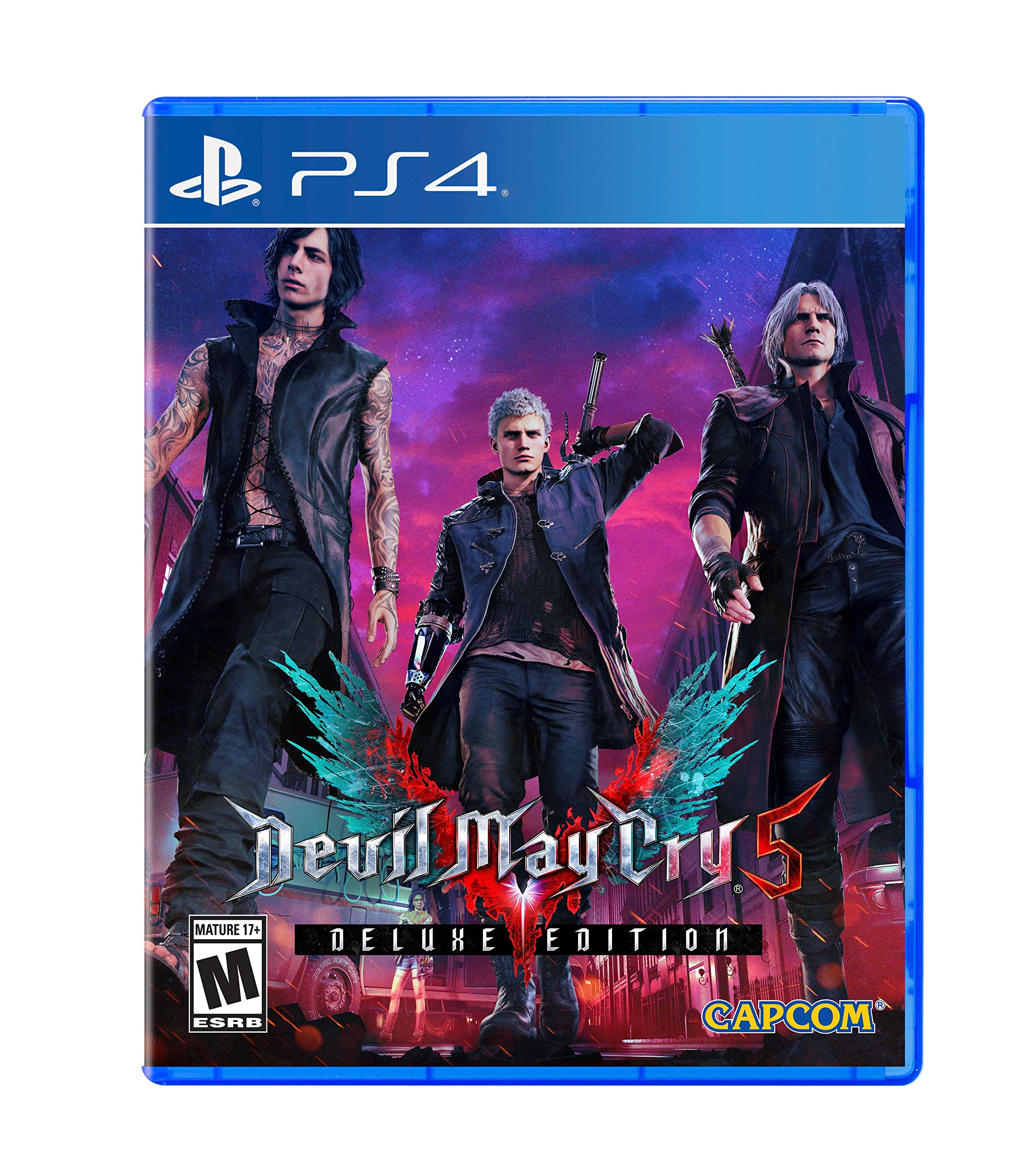 Devil May Cry 5 Deluxe Edition - Playstation 4 (fisico)