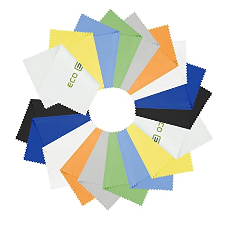 Review 18 Microfiber Cleaning Cloths