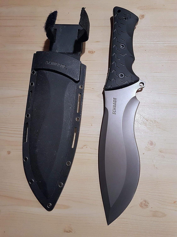 Schrade Cuchillo SCHF28, Unisex Adulto, Negro, Talla única ...