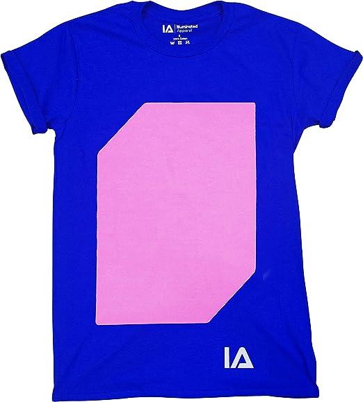 Interactive Glow In The Dark T-shirt Black 12-14 Years
