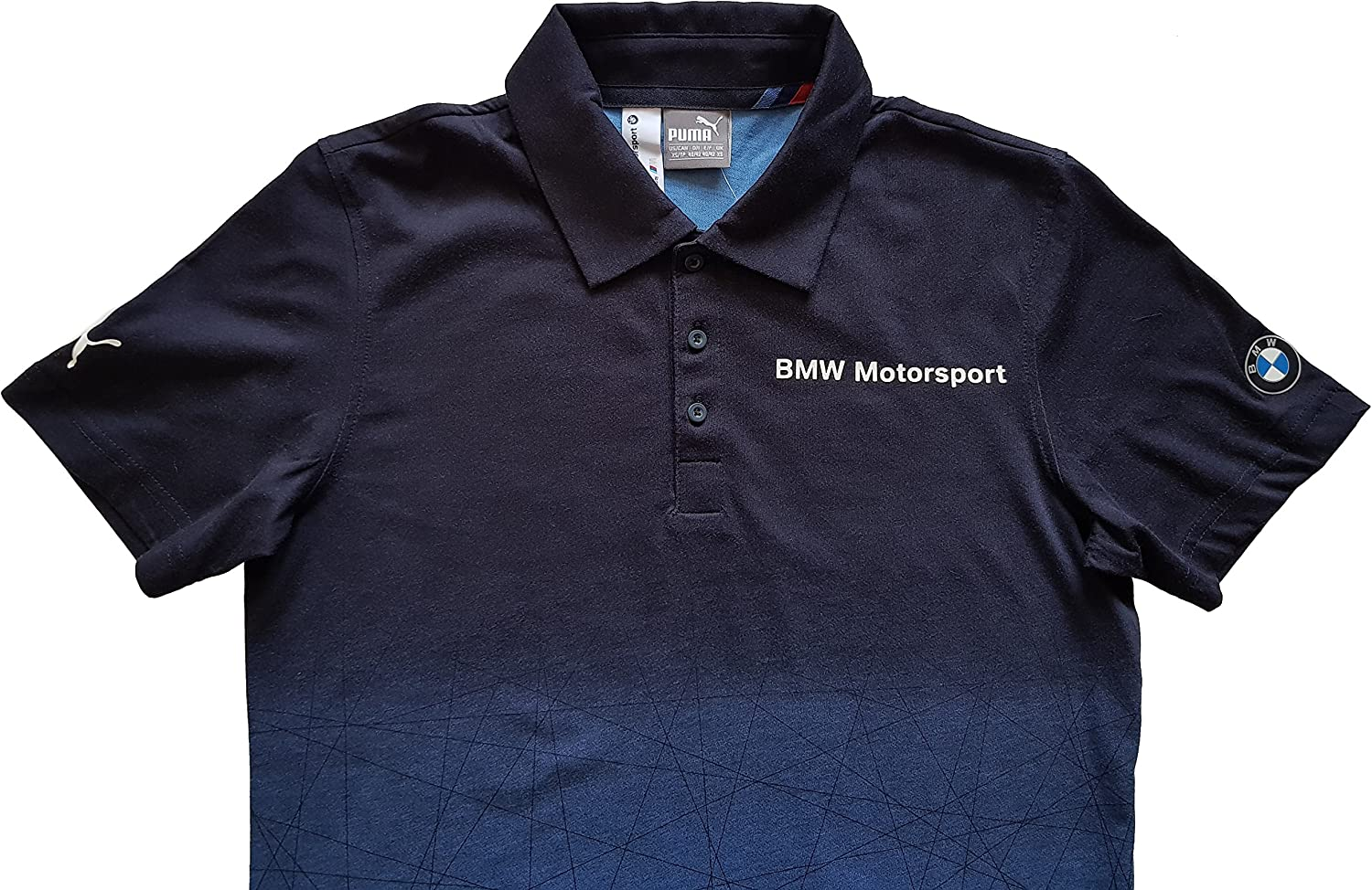 PUMA BMW MSP Gradient Polo Mens BMW Team Blue - Small: Amazon.es ...