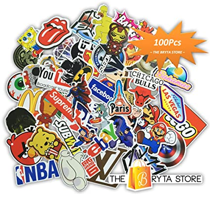 100 premium stickers decals vinyls pack of the best selling cool sticker perfect to