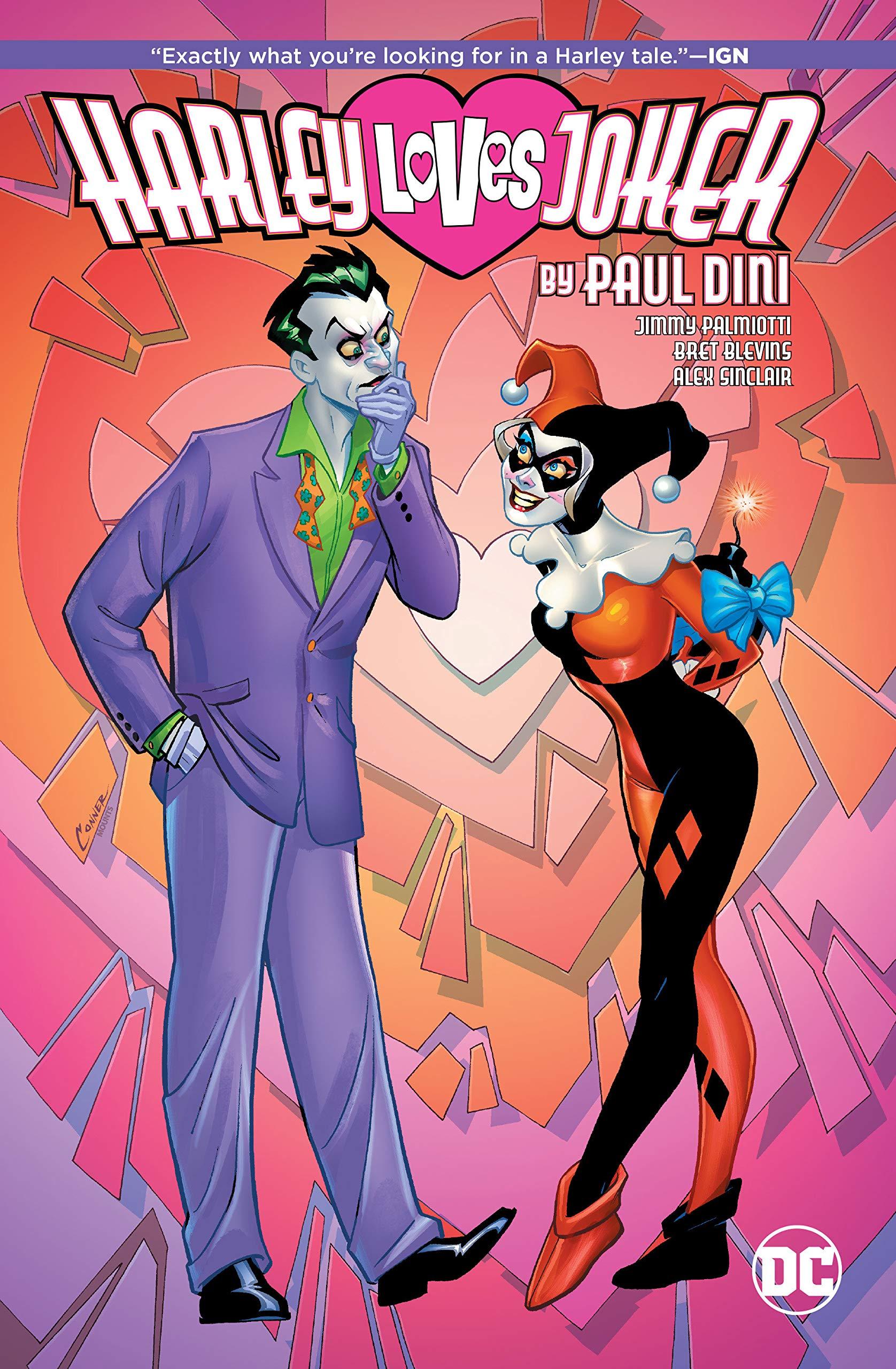 Amazon Com Harley Loves Joker 9781401283490 Paul Dini