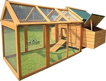 Pets Imperial Hühnerstall Marlborough Für 6 Bis 8 Hühner Je Nach Größe Leicht Zu Reinigen Amazon De Haustier
