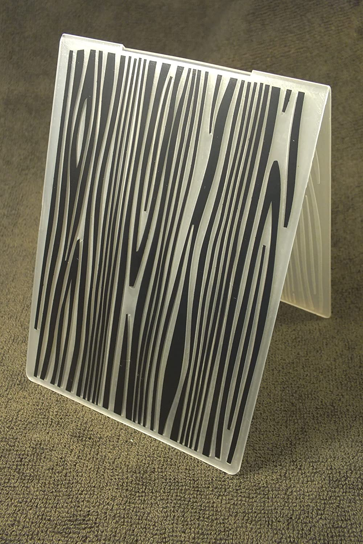 Boutique disacrea Classeur d embossage en Plastique Motif veinage Bois Format 14.5 0.3 cm 10.6