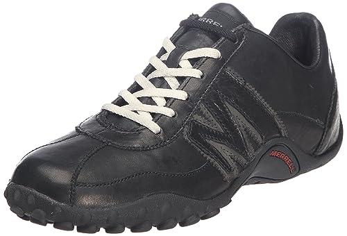 Merrell SPRINT BLAST, Sneaker uomo, Multicolore (BLACK/SCARLET), 40