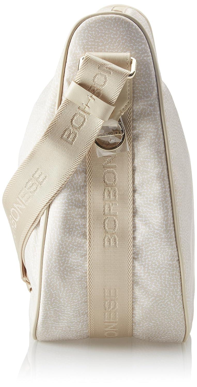 Borsa a tracolla Donna Cream W x H x L Avorio Borbonese 934777296 35x38x15 cm