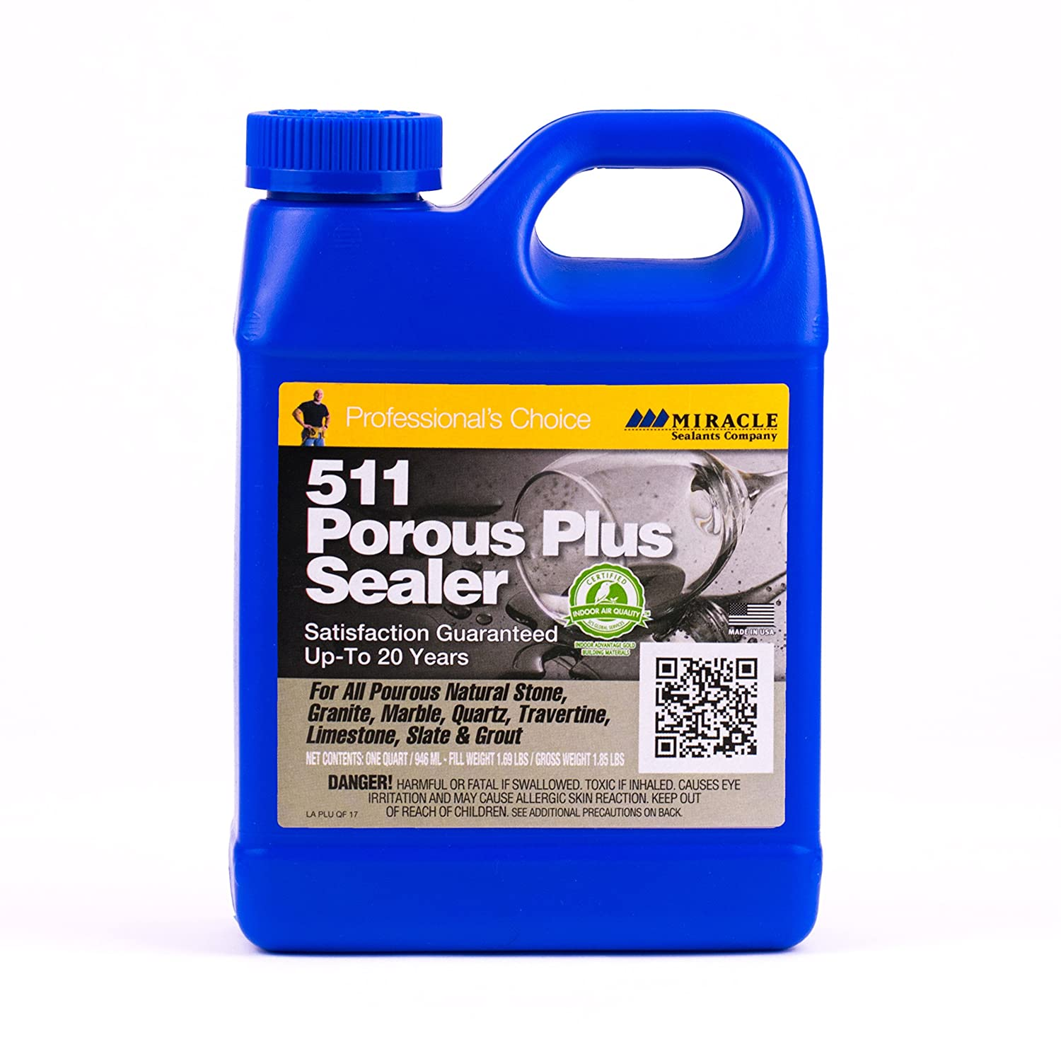 Miracle Sealants PLUS QT 511 Porous Plus Sealer 32 oz Quart