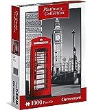 Clementoni 39397 Clementoni-39397-Platinum Collection-London-1000 Pieces, Multi-Colour