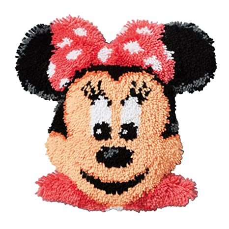 Amazon.com: Minnie mouse cojín de ganchillo – Kit de ...