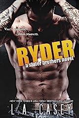 RYDER (Slater Brothers Book 4) Kindle Edition