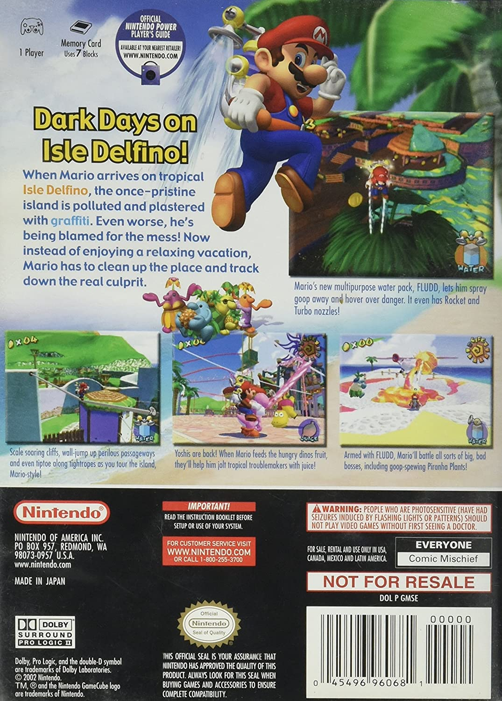 Amazon com: Super Mario Sunshine: Video Games