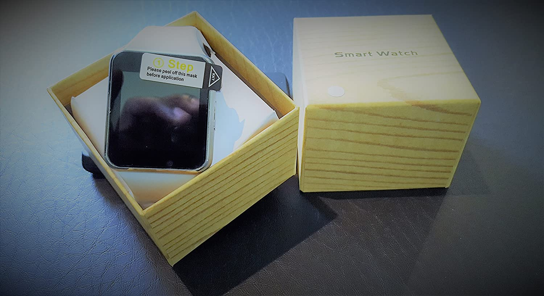 Original A1/W8 Smartwatch Smartwatch Android Color Blanco: Amazon ...