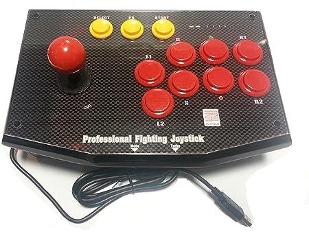 JOYSTICK FIGHTSTICK PROFESIONAL DE SALA DE JUEGOS PARA PS3 Y PC Q1 ...
