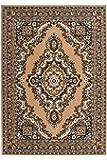 Lalee  347055296  Klassischer Teppich / Orientalisch / Beige / TOP Preis / Grösse : 160 x 230 cm