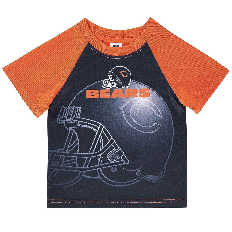 NFL Chicago Bears Boys Short Sleeve T-Shirt 4T Multi-Color