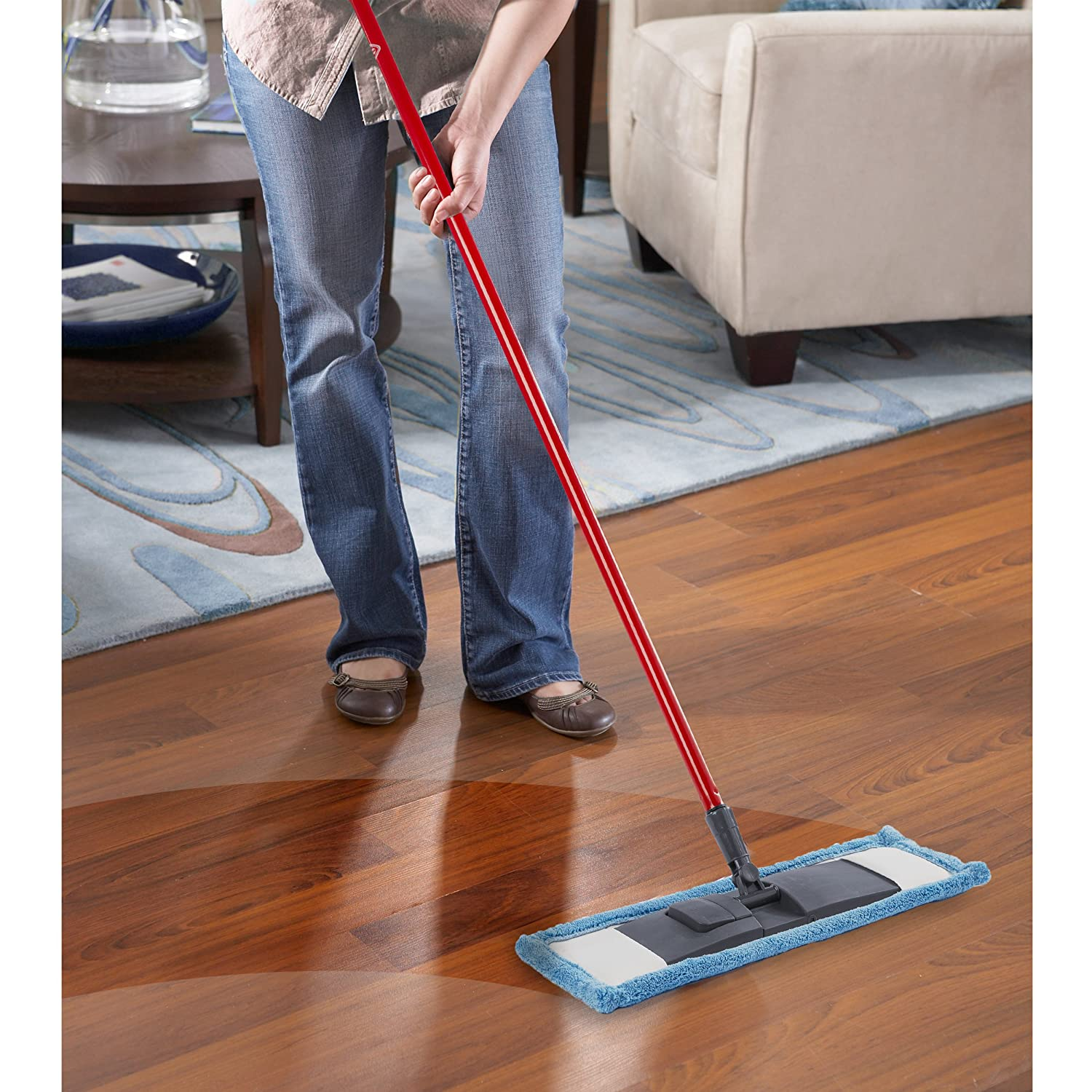 Kitchen Floor Mop Amazoncom O Cedar Microfiber Performer Mop Refill Home Kitchen