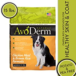 AvoDerm Natural Formula Adult Dry Dog Food