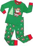 Amazon Price History for:Little Girls and Boys Christmas Pajamas Children Cotton Clothes Kids Santa Pjs Pants Set