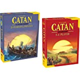 Catan 5-6 Player Extension - 5th Edition and Catan: Explorers & Pirates 5-6 Player Extension 5th Edition bundled by Maven Gifts